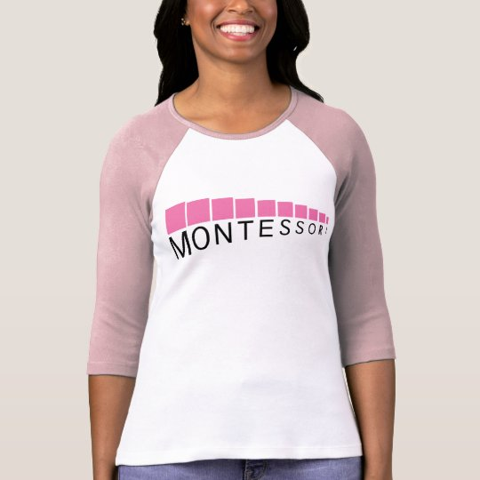 Pink Tower Three-Quarter Sleeve Comfy T-Shirt