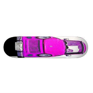 Pink Trabant Car Skateboard Decks