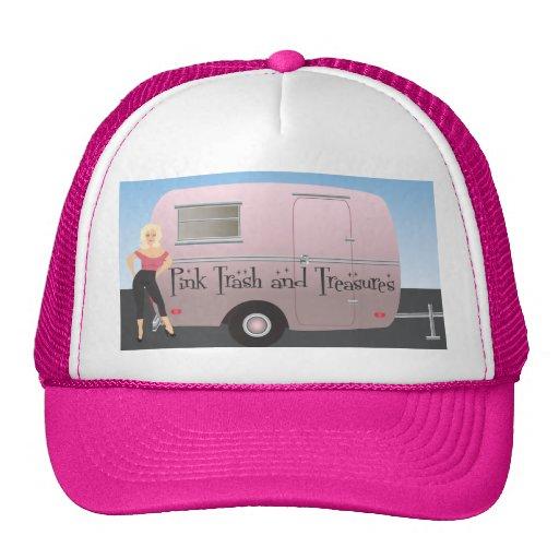 Pink Trash and Treasures logo Cap