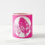 Pink Trees and Moon Mugs