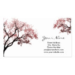 Pink Trees Business Cards