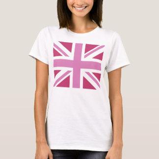 PINK TRENDY UNION JACK T-Shirt