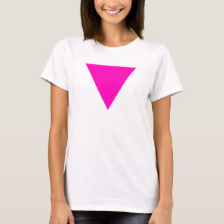 """""""PINK TRIANGLE"""" GAY PRIDE T-Shirt"""