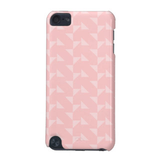 Pink Triangles Abstract Pattern. iPod Touch (5th Generation) Case