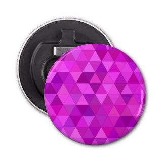 Pink triangles bottle opener