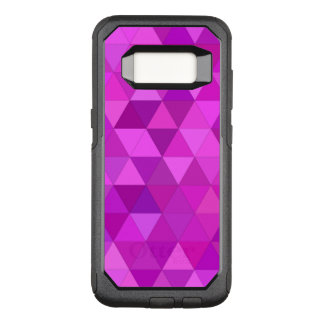 Pink triangles OtterBox commuter samsung galaxy s8 case