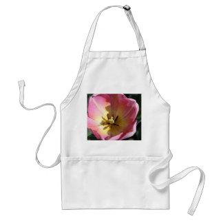 Pink tulip closeup aprons