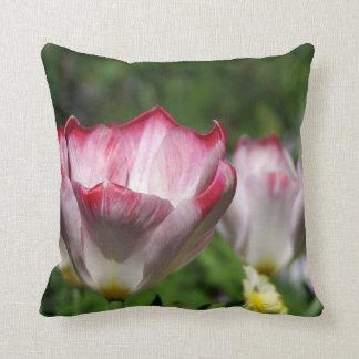 Pink Tulip Cushion