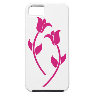Pink Tulip Graphic Case For iPhone 5/5S