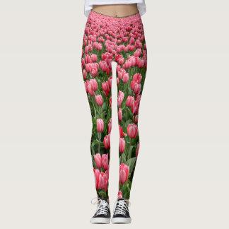 Pink Tulip Leggings