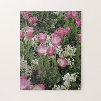 Pink Tulip Puzzle
