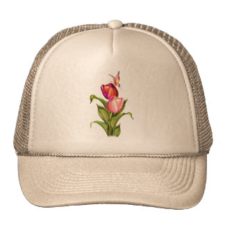 Pink Tulips Hat