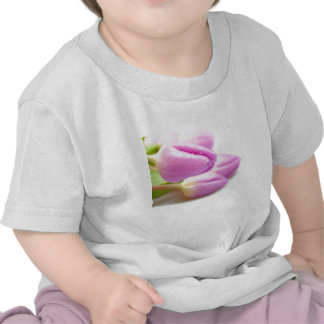 Pink tulips t shirt
