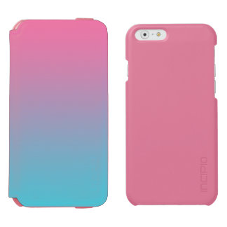 Pink & Turquoise Ombre Incipio Watson™ iPhone 6 Wallet Case