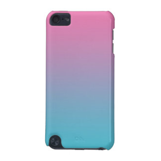 Pink & Turquoise Ombre iPod Touch 5G Cover