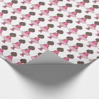 Pink Tutu Ballet Birthday Dance Teacher Ballerina Wrapping Paper