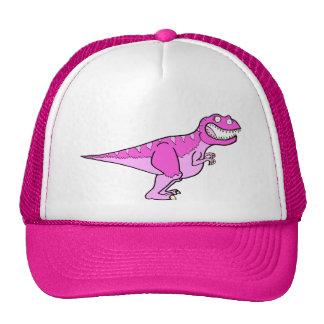Pink Tyrannosaurus Rex Cap