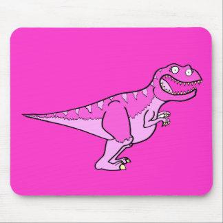 Pink Tyrannosaurus Rex Mouse Pad