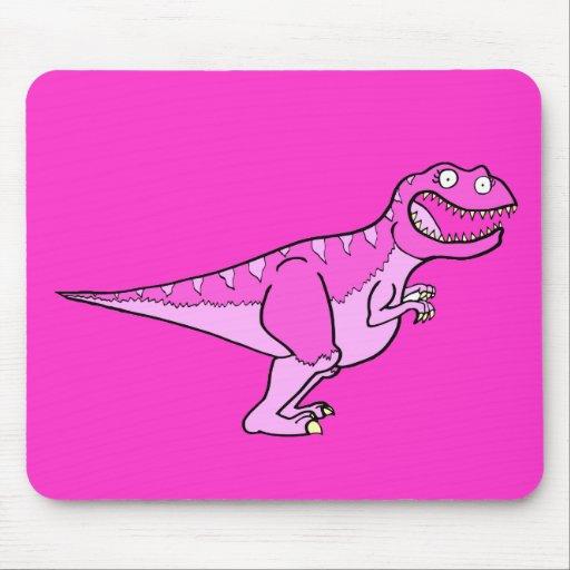 Pink Tyrannosaurus Rex Mouse Mats