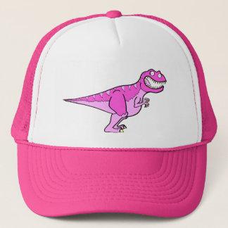 Pink Tyrannosaurus Rex Trucker Hat