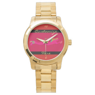 pink underwater mermaid watch