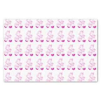 Pink Unicorn Tissue Paper