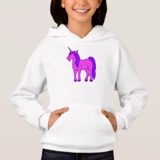 Pink Unicorn with Purple Mane