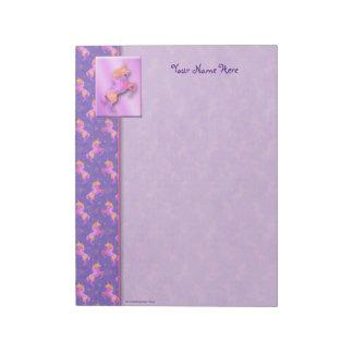 Pink Unicorns Notepad