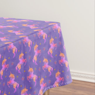 Pink Unicorns Tablecloth