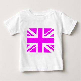 Pink Union Jack Baby T-Shirt