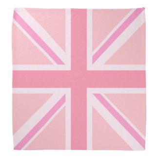 Pink Union Jack/Flag Bandana