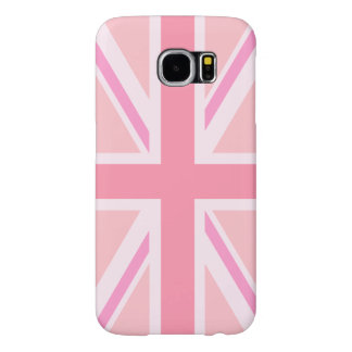 Pink Union Jack/Flag Samsung Galaxy S6 Cases