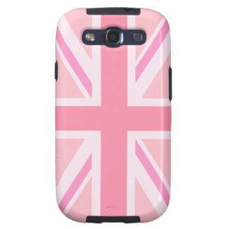 Pink Union Jack/Flag Samsung Galaxy S3 Cover