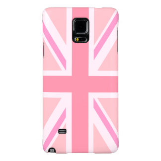 Pink Union Jack/Flag Galaxy Note 4 Case