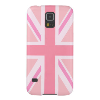 Pink Union Jack/Flag Galaxy S5 Case