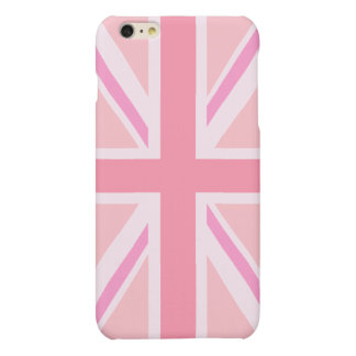 Pink Union Jack/Flag iPhone 6 Plus Case