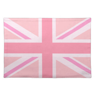 Pink Union Jack/Flag Placemat