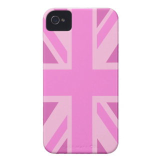 Pink Union Jack iPhone 4 Case