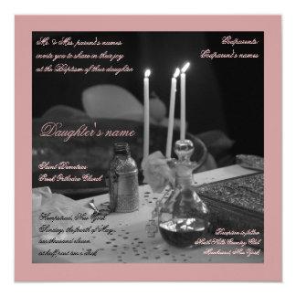 Pink Vaftisi Card