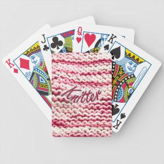 Pink Variegated Knitter Card Deck
