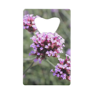Pink Verbena Flower Sprig Bottle Opener