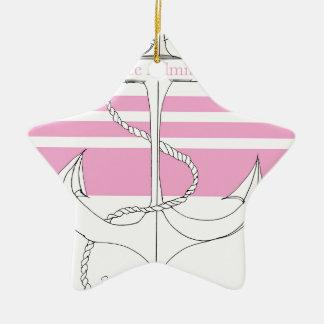 pink vice admiral, tony fernandes ceramic star decoration