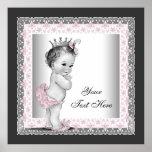 Pink Vintage Baby Girl Princess