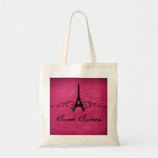 Pink Vintage French Flourish Sweet 16 Bag