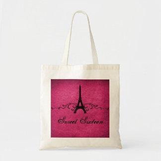 Pink Vintage French Flourish Sweet 16 Bag
