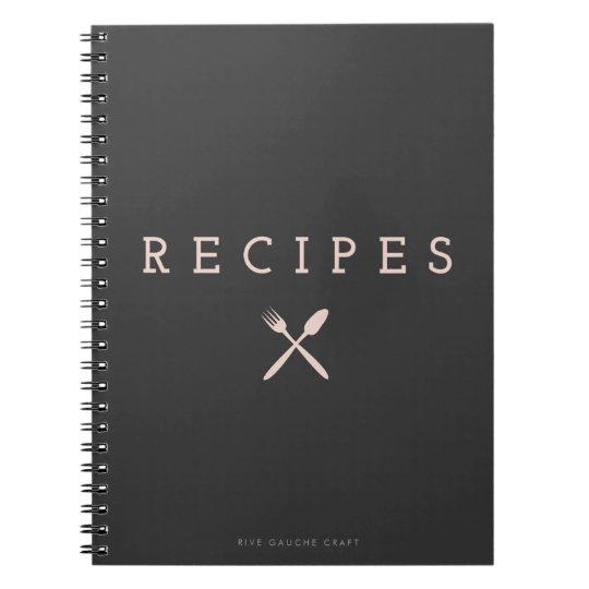 Pink Vintage Kitchen Companion Notebook