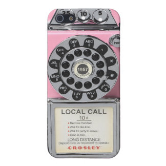 pink vintage payphone iphone case cover for iPhone 5/5S