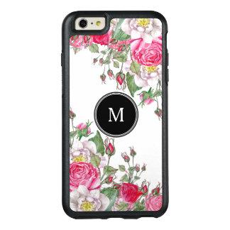 Pink Vintage Roses Design OtterBox iPhone 6/6s Plus Case
