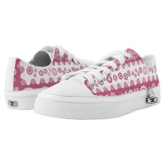 pink vintage shoes