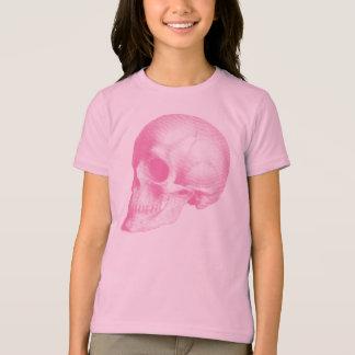 Pink Vintage Skull T-Shirt